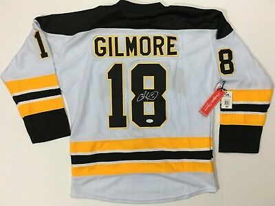 ea9527468b8 Adam Sandler Signed Happy Gilmore Hockey Jersey Boston Bruins Authentic Jsa