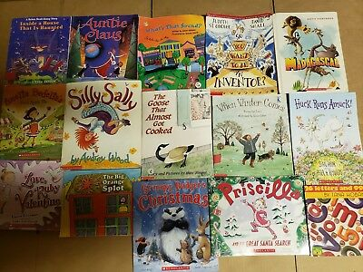 Lot of 15 Scholastic Classroom Teacher Reading Bedtime-Story Time Child Book A44