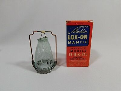 Vtg Aladdin Lox-On Mantle For Models 12-B-C-21C No. 24203 New In Box