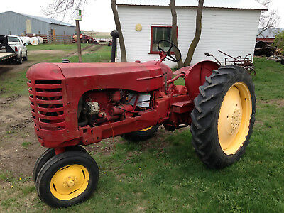 Massey Harris 30 Antique Tractor Runs Nice Oliver Farmall Case John Deere Wallis