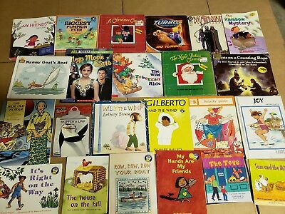Lot of 20 K-5 Children Reading Bedtime-Story Time Kid BOOK Learn to Read MIX A69