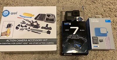 GoPro HERO7 Black Action Camera Plus tons of Accessories