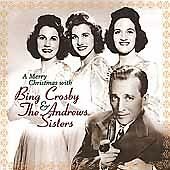 A Merry Christmas with Bing Crosby and the Andrews Sisters *BRAND NEW CD!
