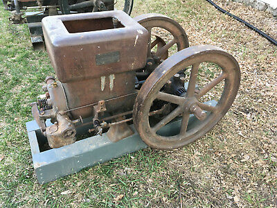 6hp Witte Gas Stationary Engine John Deere Economy Galloway Gade Stover Hit Miss
