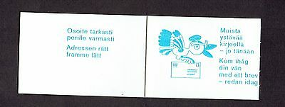 Finland 1982 Booklet