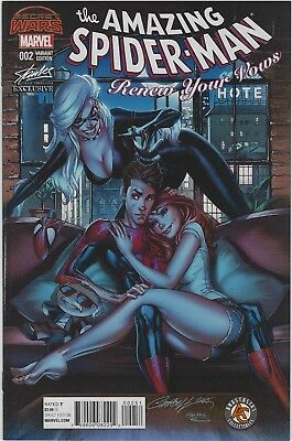 Amazing Spiderman Renew Your Vows 2 Stan Lee J Scott Campbell Sdcc Color Variant