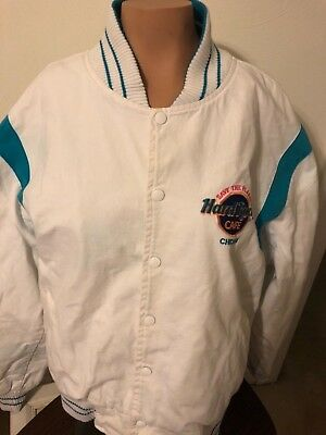 Planet Hollywood Chicago made in USA jacket white coat