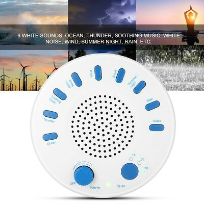 Deep Sleep White Noise Sound Relaxing Machine Helper Nature Music Therapy Tools