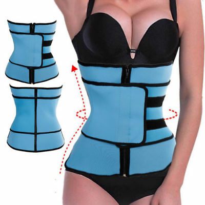 Women Fajas Underbust Slimming Waist Cincher Trainer Belts Sport Body Shaper Gym