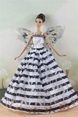 Fashion Princess Party Dress/Evening Clothes/Gown For Barbie Doll M14