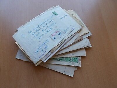 39 x India Registered Field Post Office FPO Covers. See Pics for Info.