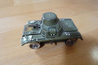 Gama Panzer Tank Blechspielzeug Made in Western Germany