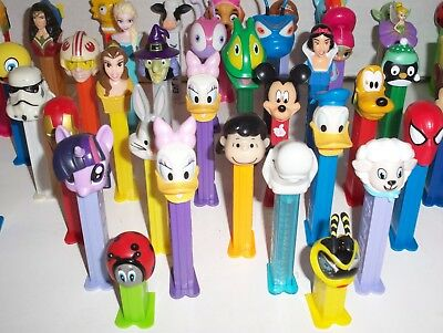 Mixed lot of 50 Pez Dispensers