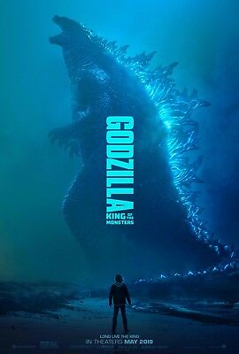 "Godzilla King of the Monsters Movie Poster Art Film Print 24x36"" 27x40"" 32x48"""