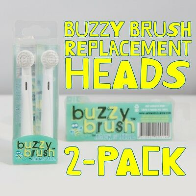 Jack n Jill Buzzy Brush Replacement Heads 2pk