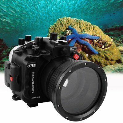 SeaFrogs Waterproof 40m/130ft Underwater Camera Housing for Sony A7RIII A7R3