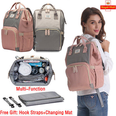 Elegant Mummy Bag Multi-Function Large Capacity Backpack Infant Out Diaper Bags