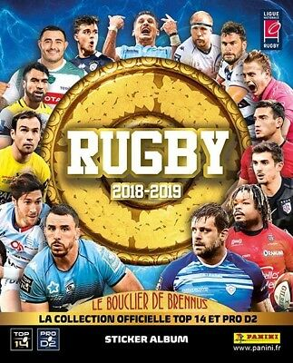 Album Panini Rugby 2018/2019 Complet