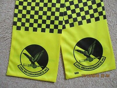 Original Air Force Squadron Pilot Scarf Usaf 15 Rs Recon Reconnaissance Sqn