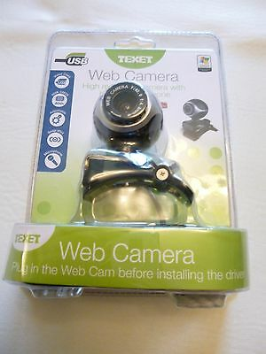 Texet Web Camera With Built In Microphone..bnib