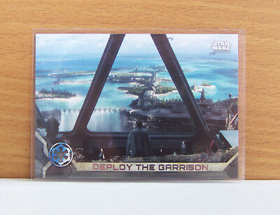 Star Wars Rogue One series 2 Deploy garrison #55 Gray Grey parallel card 45/100