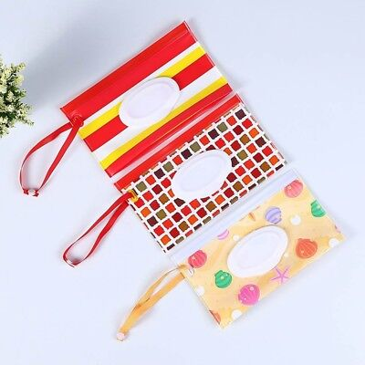 Clean Carrying Case Wet Wipes Bag Cosmetic Pouch Wipes Container Baby Prop New
