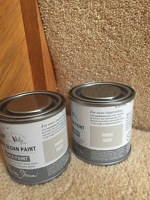 Annie Sloan paint -2 x 120ml tins- 1 of  Graphite and 1 of your colour choice.
