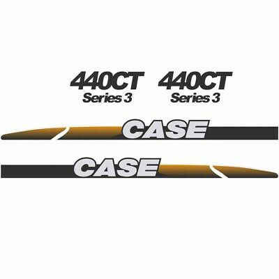 CASE 440CT Decals Stickers Skid loader Repro kit