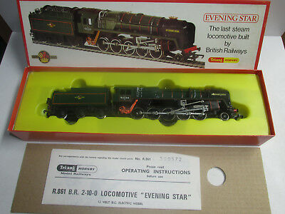 Hornby Evening Star Schlepptenderlok R.861 der British Railways BN 92220 OVP
