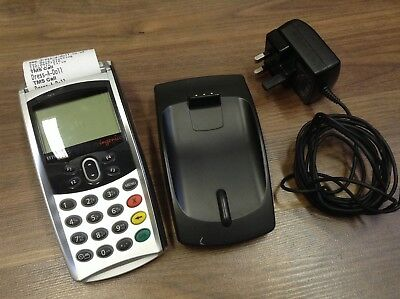 INGENICO EFT930G card payment terminal, charger instructions roaming (shows/fair