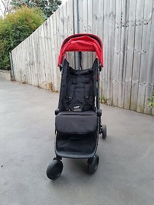 Mountain Buggy Nano Red - Used Stroller Pram