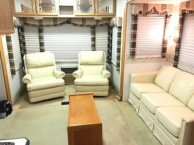 fifth wheel rv used 36' 3 slide outs