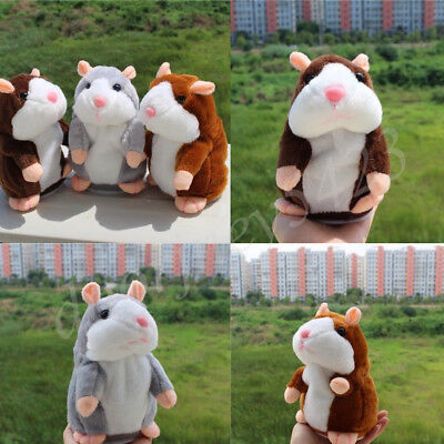 Funny Talking Hamster Electronic Plush Toy Mouse Pet Sound Children Plush Cute
