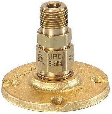 "Trac-Pipe AutoFlare FGP-BFF 500 1/2"" Male Brass Flange Fitting FREE SHIPPING!"
