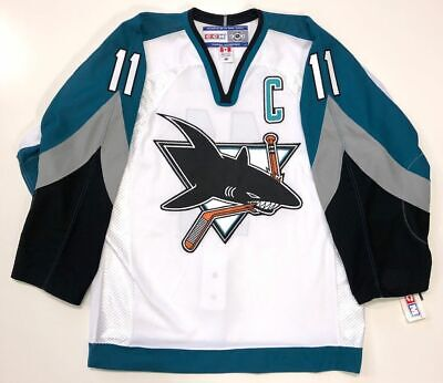 finest selection 997ee 89f57 ARTURS IRBE 1991 SAN JOSE SHARKS CCM AUTHENTIC NHL JERSEY ...