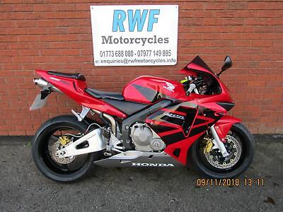 Honda CBR 600 RR, 2003 MODEL, EXCELLENT COND, 27K WITH FSH, 12 MONTHS MOT