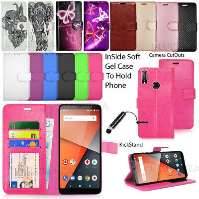 For Vodafone Smart X9  New Wallet Leather Case Flip Cover Book + Touch Stylus