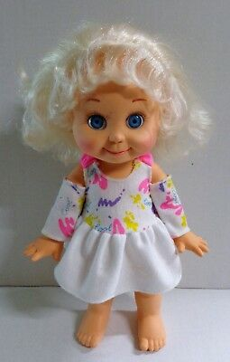 Vintage Galoob Baby Face So Sweet Sandi Doll #1 Blonde Hair Blue Eyes 1990