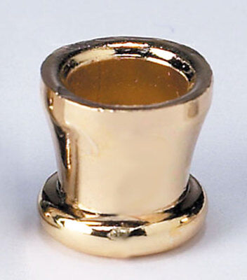 Brass-Plated Candle Cups with Screws for Hanukkah Menorah - Set of 9 - Chanukah
