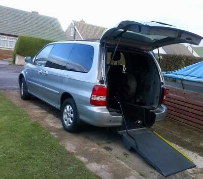 Kia Sedona 2007 automatic WAV wheelchair accessible vehicle, ramped disabled car