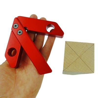 Woodworking Center Scribe 45/90 Degree Right Angle Line Gauge Woodworking Aids