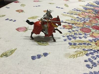 Vintage Cast Metal Knight, Made in England-FINAL LISTING
