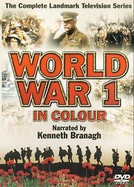 The First World War In Colour (DVD, 2003, 2-Disc Set) Complete TV Series