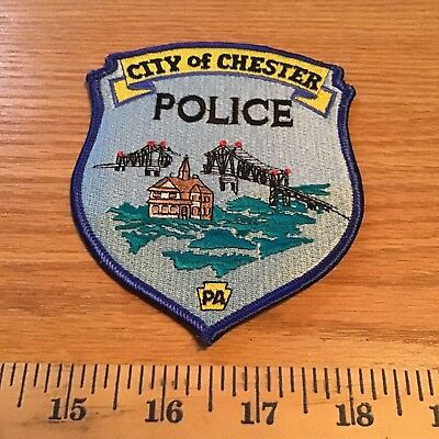 Old Chester City Pa Pennsylvania Police Patch Without Writing And Date