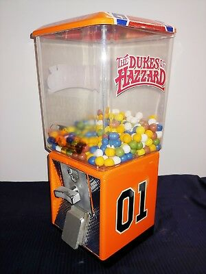 Northwestern Gumball machine Hazzard General Lee distributore caramelle cicche