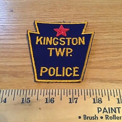 Old Kingston Twp Pa Pennsylvania Police Patch