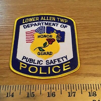 Old Lower Allen Twp Pa Pennsylvania Police Honor Guard Patch