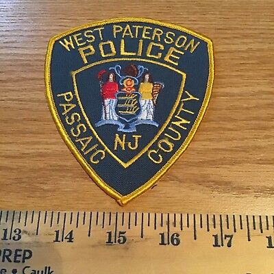 Old Defunct West Paterson Nj New Jersey Police Patch