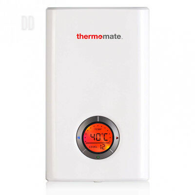 Thermomate ELEX9.6 Instantaneous Electric Water Heater, 9.6kW Tankless...
