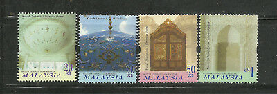 Malaysia 2000 MiNr.882/5 Museen postfr. s.Scan